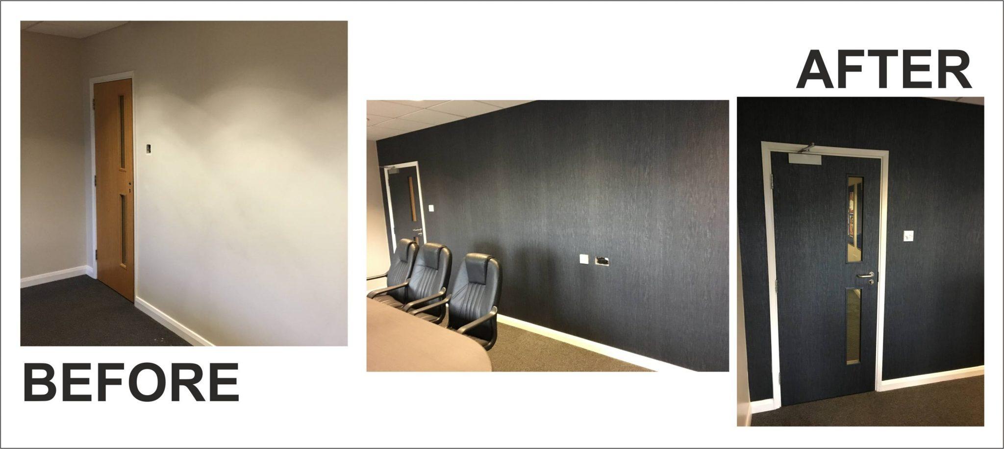 Boardroom Door and Wall