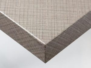 NE37 Silver and Brown Lined Pattern vinyl