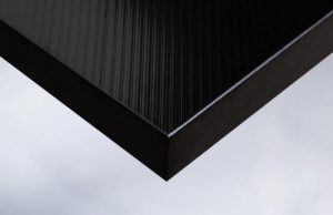 S1 - Black Vertical Stripe