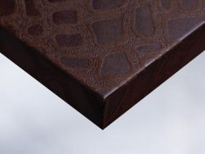 W1 Chocolate Bubble Texture Fabric vinyl