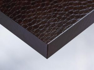 X7 Dark Brown Snake Skin vinyl