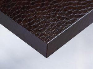 X7 Dark Brown Snake Skin vinyl